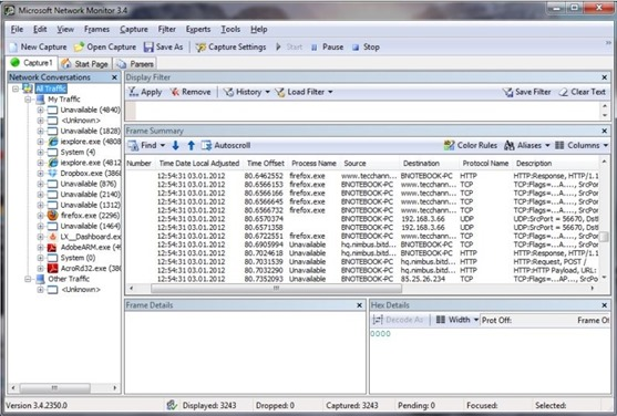 MS 2Network Monitor 3.4.