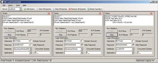 SQL Load Generator